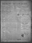 Deming Headlight, 01-04-1890 by J.E. Curren