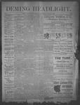 Deming Headlight, 01-11-1890 by J.E. Curren