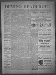 Deming Headlight, 02-08-1890 by J.E. Curren