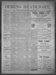Deming Headlight, 03-01-1890 by J.E. Curren