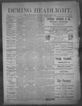 Deming Headlight, 03-15-1890 by J.E. Curren