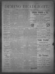Deming Headlight, 03-22-1890 by J.E. Curren