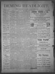 Deming Headlight, 03-29-1890 by J.E. Curren