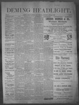 Deming Headlight, 04-12-1890 by J.E. Curren
