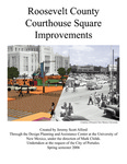 Roosevelt County Courthouse Square Improvements by Jeremy Scott Alford