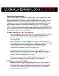 11-07-2016 La Charla Semanal con El Centro by El Centro de la Raza
