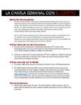 11-22-2016 La Charla Semenal con El Centro by El Centro de la Raza