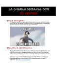 05-01-2017 La Charla Semanal con el Centro