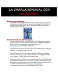 03-07-2017 La Charla Semanal con El Centro by El Centro de la Raza