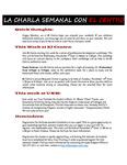 10-30-2017 La Charla Semanal con El Centro by El Centro de la Raza