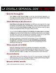 11-27-2017 La Charla Semanal con El Centro