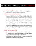 11-06-2017 La Charla Semanal con El Centro