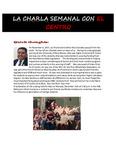 12-04-2017 La Charla Semanal con El Centro by El Centro de la Raza