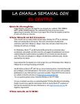 02-27-2017 La Charla Semanal con El Centro by El Centro de la Raza