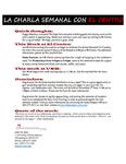 10-23-2017 La Charla Semanal con El Centro
