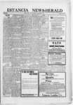 Estancia News-Herald, 03-11-1920 by J. A. Constant