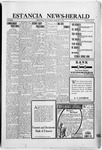 Estancia News-Herald, 05-27-1920 by J. A. Constant