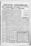 Estancia News-Herald, 07-01-1920 by J. A. Constant