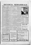 Estancia News-Herald, 10-28-1920 by J. A. Constant