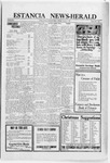Estancia News-Herald, 12-09-1920 by J. A. Constant