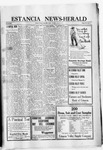 Estancia News-Herald, 01-20-1921 by J. A. Constant