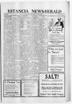Estancia News-Herald, 03-24-1921 by J. A. Constant