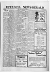 Estancia News-Herald, 08-11-1921 by J. A. Constant