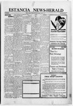 Estancia News-Herald, 08-18-1921 by J. A. Constant