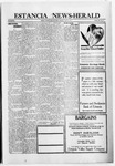 Estancia News-Herald, 08-25-1921 by J. A. Constant