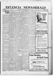 Estancia News-Herald, 09-08-1921 by J. A. Constant