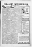 Estancia News-Herald, 09-15-1921 by J. A. Constant
