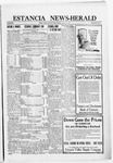 Estancia News-Herald, 09-22-1921 by J. A. Constant