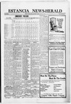 Estancia News-Herald, 09-29-1921 by J. A. Constant