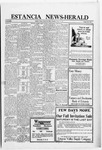 Estancia News-Herald, 10-20-1921 by J. A. Constant