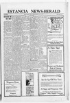 Estancia News-Herald, 12-29-1921 by J. A. Constant