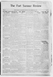 Fort Sumner Review, 08-26-1911 by Review Pub. Co.