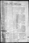 El Hispano-Americano, 01-08-1920 by P. A. Speckmann