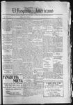 El Hispano-Americano, 01-29-1920 by P. A. Speckmann