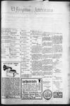 El Hispano-Americano, 12-09-1920 by P. A. Speckmann