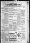 El Hispano-Americano, 01-15-1921 by P. A. Speckmann