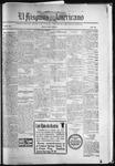 El Hispano-Americano, 08-20-1921 by P. A. Speckmann