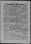 El Hispano-Americano, 01-18-1908 by Mora County Publishing Company