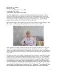 ELLA ANAGICK ORAL HISTORY INTERVIEW FEB 2021
