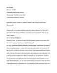 McKenna Johnston Oral History Interview 2/23/2021 by McKenna M. Johnston and Leo Williams