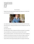 Steve's Oral History