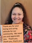 Health Care Thank you note by Lori Sloane