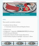 INLP Newsletter, September 2018 by Indigenous Nations Library Program