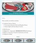 INLP Newsletter, October 2018 by Indigenous Nations Library Program