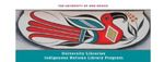 INLP Newsletter, April 2020 by Indigenous Nations Library Program