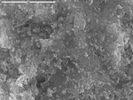 Spheroids and tissue-paper mineral on artificial substrate